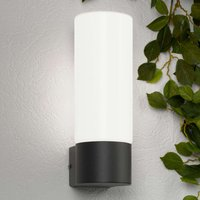 Graceful outdoor wall light Gray  without sensor