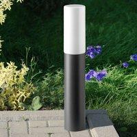Elegant pillar light Gray