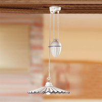 Rise and fall pendant light PIEGHE