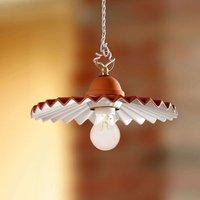 ARGILLA hanging light  country house style  28 cm