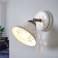 NONNA wall light  made of white ceramic