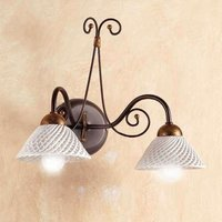 2 bulb RETINA wall light