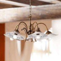 Rustical ORLO hanging light  5 bulb