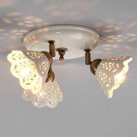 Enchanting PORTICO ceiling light 3 bulb