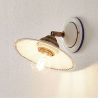 Lovely IL PUNTI wall light  ceramic lampshade