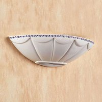 Attractive IL PUNTI wall light with a ceramic bowl