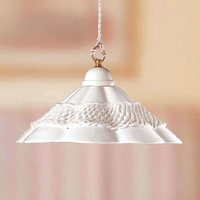 GONNELLA hanging light with a decorative strip