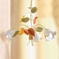 Flora hanging light with a Florentine style