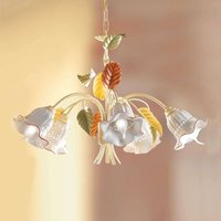 Flora hanging light  Florentine style  5 bulb
