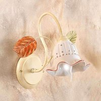 Lovely Flora wall light with a Florentine style