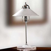 GIACOMO table lamp with a ceramic lampshade