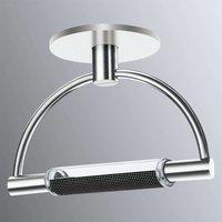 Dimmable LED ceiling light Gradi  chrome finish