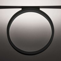 Black LED ceiling lamp Assolo  43 cm