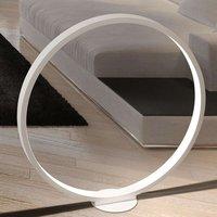 Ring shaped LED floor lamp Assolo  70 cm