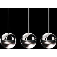 Stylish designer LED hanging light Convivio clear