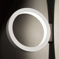Ring shaped LED outdoor wall light Assolo  white