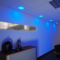Round LED Panel 16  RGB
