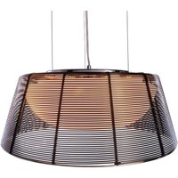 Filo Sat hanging lamp in black
