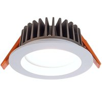 Cool white COB95 LED recessed ceiling spotlight