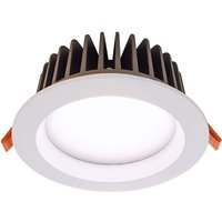 18W cool white COB130 LED recessed ceiling light
