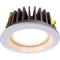 37 W COB130 LED recessed ceiling light warm white
