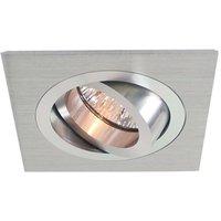 Pivotable alu recessed light  9 2 x 9 2  alu