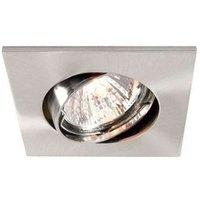 Discrete ceiling rcsd  light  brushed alu  7 4 cm