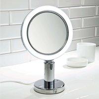 BS 12 V illuminated cosmetic mirror