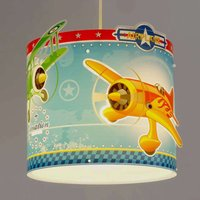 Airplane   pendant light with airplanes