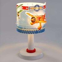 Children s night stand lamp Airplane
