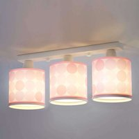 Dotted ceiling light Colors  pink