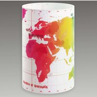 Round children s table lamp Map