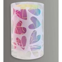 Cuore   table lamp adorned with hearts