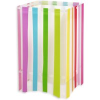 Colourful striped children s table lamp Decoline