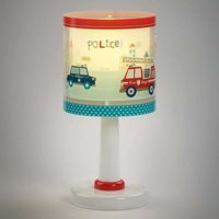 Children s table lamp Police with motif