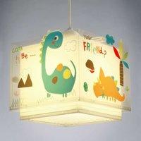 Colourful children s hanging light Dinos