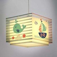 Maritime children s room hanging lamp Petit marin