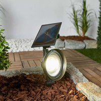 LED ground spike light Riley with solar panel