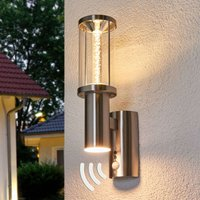 Decorative LED outdoor light Trono Stick with PIR