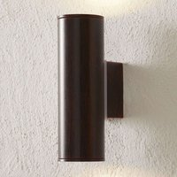Riga two bulb LED outdoor wall light