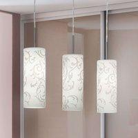 Decorative pendant light Amanda  3 bulb