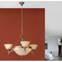 Decorative pendant light Marilla  6 bulb