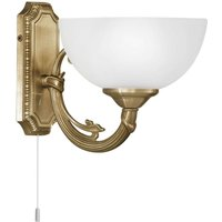 Savy wall light with one bulb