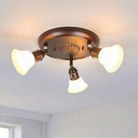 Rustic ceiling light Elma