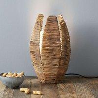 Natural table lamp MONGU