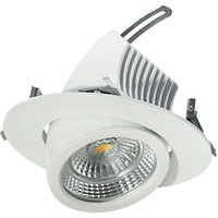 Pivotable LED downlight 15 cm  18 W