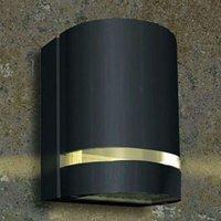 Focus exterior wall light  1 bulb   anthracite