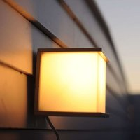 CUBE exterior wall light  anthracite