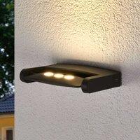 Keiran exterior wall spotlight with 3 Power LEDs
