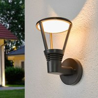 Industrial themed Ladi LED exterior wall light